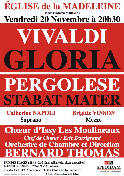 Concert Chorim